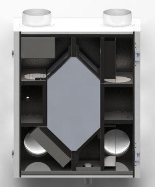 Ventoxx Energy 350 - децентрализованная вентиляция для больших помещений