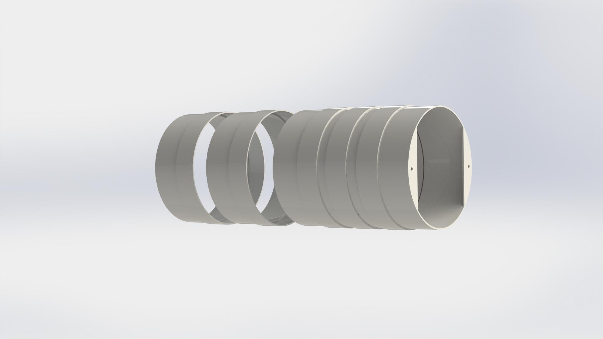 Наборные кольца для рекуператоров Ventoxx