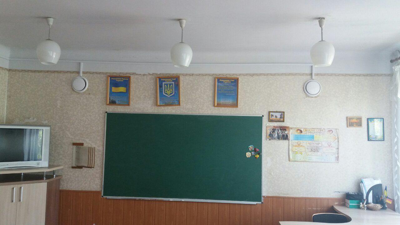Установка рекуператоров Ventoxx в школьном классе
