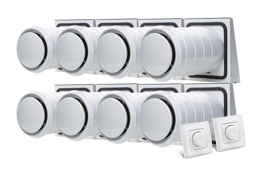 комплект рекуператорів для вілли