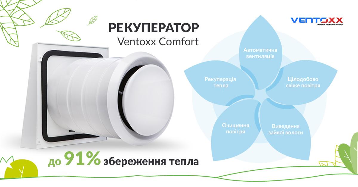 рекуператор - запорука свіжого повітря