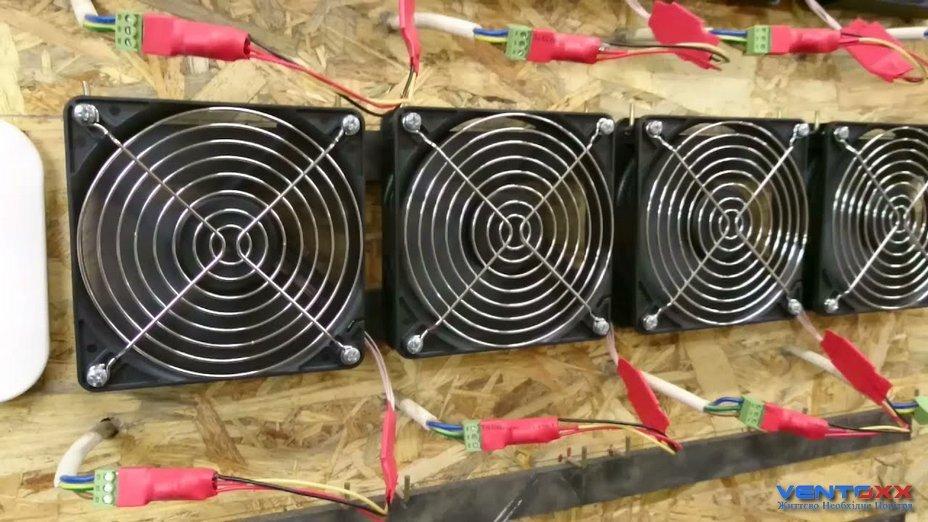 тест вентиляторів для рекуператорів